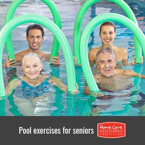 Fun Pool Exercises for Seniors in Dayton, OH