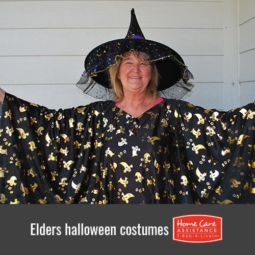 Ways For Elderly To Dress In Halloween in Dayton, OH