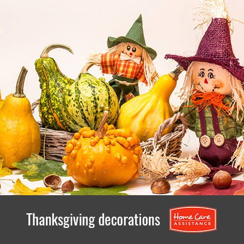 Decorating Ideas on Thanksgiving for a Senior's Home in Dayton, OH