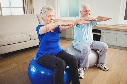 Senior Scare to Exercise in Dayton, OH